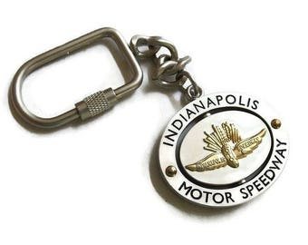Vintage Indianapolis Motor Speedway Key Chain