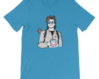 Steve Harrington: World's Greatest Mom Short-Sleeve Unisex T-Shirt