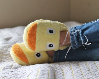 Yikes Twins Children's Duck slippers