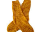 Special Order - The Colonial Gal - Gold Lace Socks