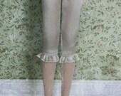 jiajiadoll - cream silk laced legging pants fit Blythe Middie blythe Pullip jerryberry azone momoko misaki dorandoran