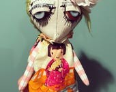 Dandy Annabella Art Doll by Jen Musatto