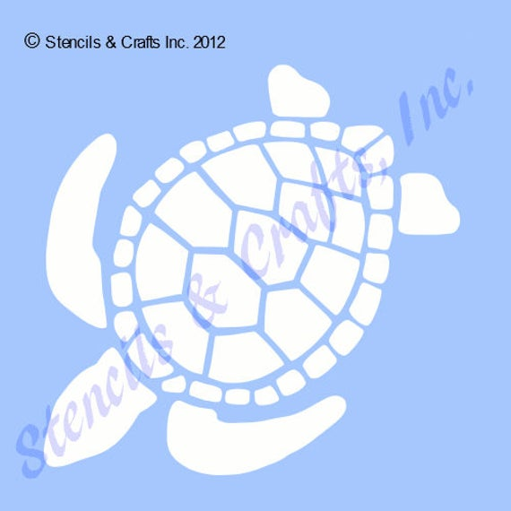 8 12 TURTLE STENCIL TEMPLATE animal turtles stencils shell