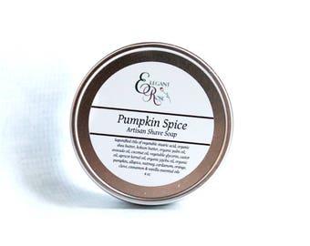 Pumpkin Spice Shave Soap, Mens Shaving Soap, Men's Shave Soap,  Shaving Soap, Mens Shave Soap, Wet Shaving, Shaving Puck