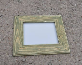 11x14 Picture Frame with Acrylic Glass Backing and Mounting Hardware in Any Finish