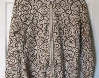 Vintage Peruvian Link Alpaca Collection Sweater - Made in Peru - Size Medium/Large