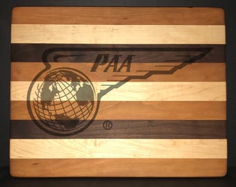 Pan American Airways 14 X 18 X 1 Bread/Cheese Board