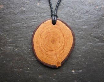 Natural Wood Pendant - Alder - for Faery Magic.