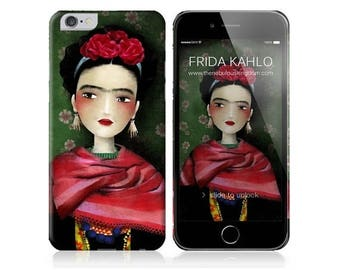 10% Off - Summer SALE Phone Case - Frida - iPhone 4 - 4S - iPhone 5 - iPhone 6 - Samsung Galaxy S5