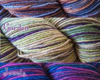 Cascade Venezia Sport Multis Sport Weight Silk/Wool Blend Variegated Yarn