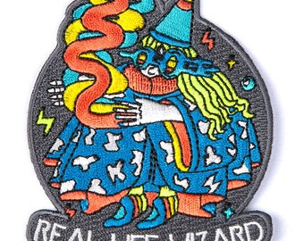 Real Life Wizard Velcro Patch