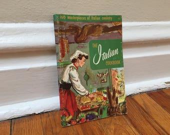 Italian Cookbook Vintage Paperback Cook Book 1965