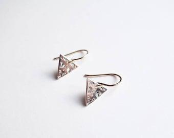 Triangle Symétrie Earrings