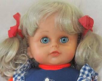70's beautiful cuddly doll