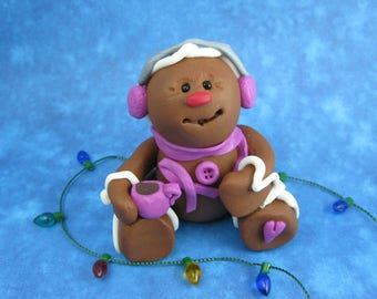 Gingerbread Collectible - Breast cancer support