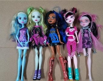 super sale monster high dolls lots