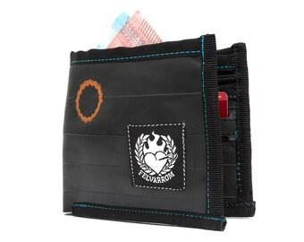 VEGAN MENS WALLET Black wallet vegan womens, purse vegan mens, wallet vegan father, wallet vegan her, wallet vegan him, purse vegan