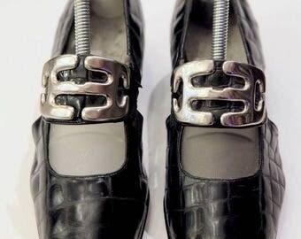 Black Vintage Chic Shoes