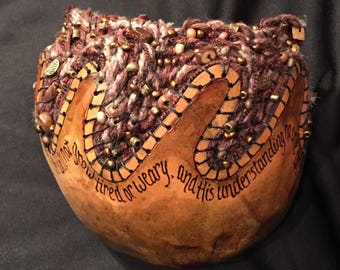 Everlasting God Gourd Basket