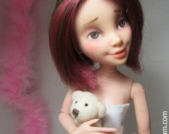 June - OOAK Disney Descendants Jane Auradon Prep Repaint Doll