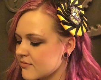 Hogwarts House Pinwheel Feather Hair Clip FREE SHIPPING!!!