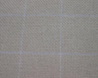 Cotton Monks Cloth for Rug Hooking 29 X 36 (one half yard) 2 X 2 Grid