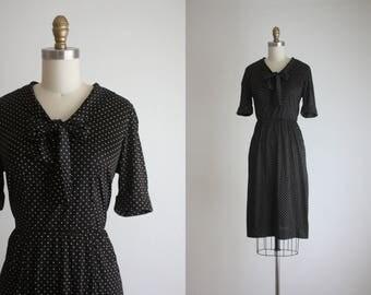 1960s swiss dot dress
