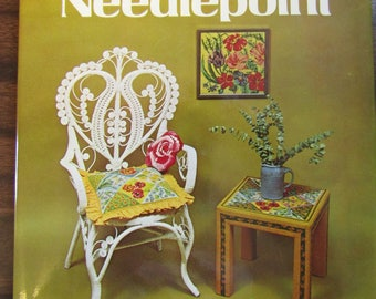 Decorating with Needlepoint by Joan Scobey and Marjorie Sablow