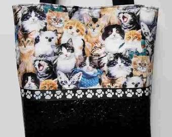 Multi Cats Purse