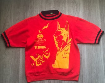 Vintage Batman and Tuborg Beer Novelty Sweater
