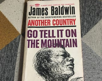 Vintage 1963 Go Tell It On The Mountain James Baldwin Novel