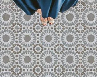 Cordelia Tile Stencil - Easy Way to Improve Wall Decor - DIY Wall Art - Reusable Stencils for Home Makeover