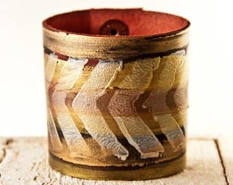 Leather Jewelry Cuff Bracelets for Women