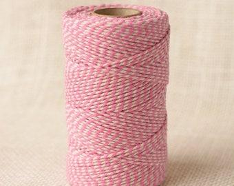 25% Off Summer Sale Full Spool Heavy Twine - 100 Yards - Fuschia - 10 Ply Heavy Cotton Twine No. 22