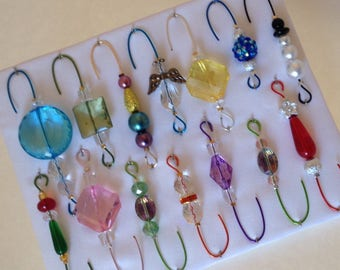 Only One Box Variety*3 - Beaded Ornament Hangers -  FREE SHIPPING