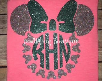 Minnie Mouse Disney World initial shirt