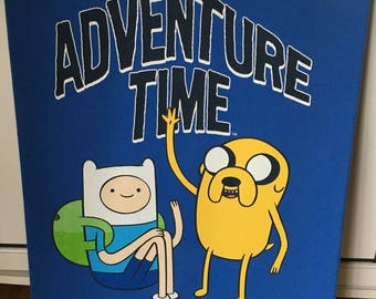 Adventure Time Wall Art Canvas - 20x16