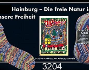 Opal Sock Yarn Hundertwasser, 100g/465yds, #3204