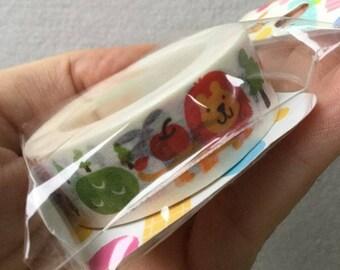 Lion Tape - Japanese Masking Tape - Funtape 15mm x 15m