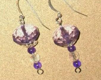 Purple Power Earrings