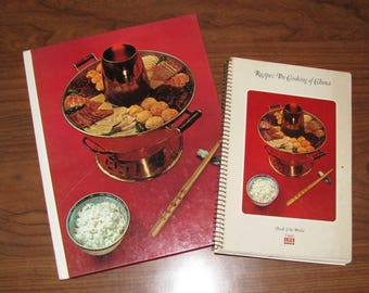 Time-Life Cooking of China with Recipe book