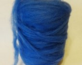 Stash Sale, Wool Roving, sale roving, felting wool, spinning wool, wool, blue roving, blue roving, romney roving, romney wool, stash sale#41