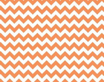Chevron Small Orange by Riley Blake - 1 Yard