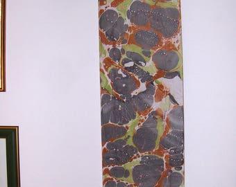 """marbled canvas, ready to hang,  tela màrmolada, tela  marmorizzata - 0,8 x 1,16"""" x  39,8""""  inches -  cm 1,6 x  30 x cm 100  -    H28"""