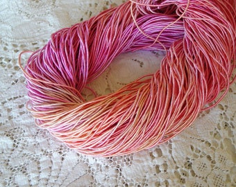 Pre-Cut Sale - Hand Dyed BLOSSOM cord, 14 yards