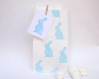 PETER RABBIT paper bags, Rabbit party bags, rabbit  favour bags, peter rabbit bags, peter rabbit theme party, rabbit favours, easter favours