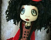 Briar-Rose - Urchin art doll Goth Grotto