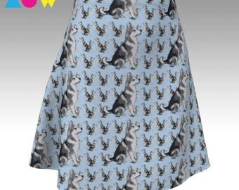 Alaslkan Malamute Leggings or Skirt