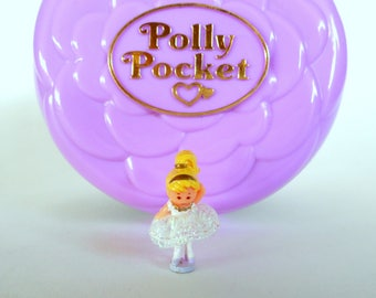 Vintage Polly Pocket Ballerina Polly Grand Ballet Playset by Bluebird 1993