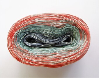 CAROLINA MEDLEY II  Color Changing Cotton yarn  480 yards/100 gr  Fingering Weight